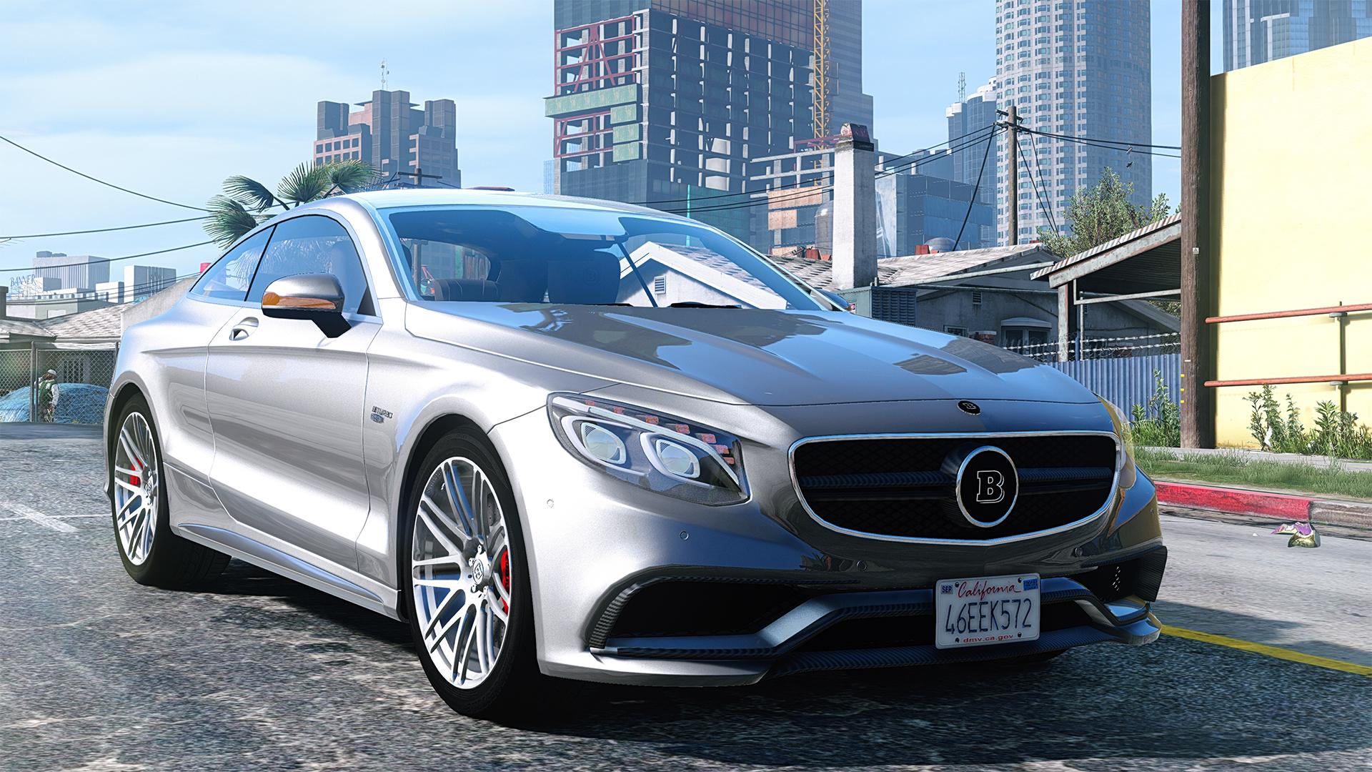 Mercedes benz brabus 850 add on replace gta5 for Mercedes benz add
