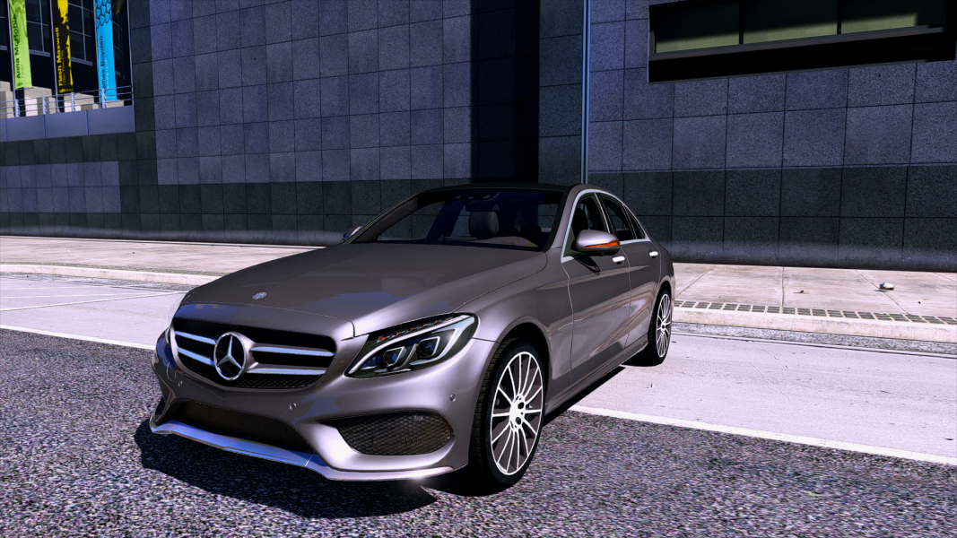 mercedes benz c250 sedan 2014 add on gta5. Black Bedroom Furniture Sets. Home Design Ideas