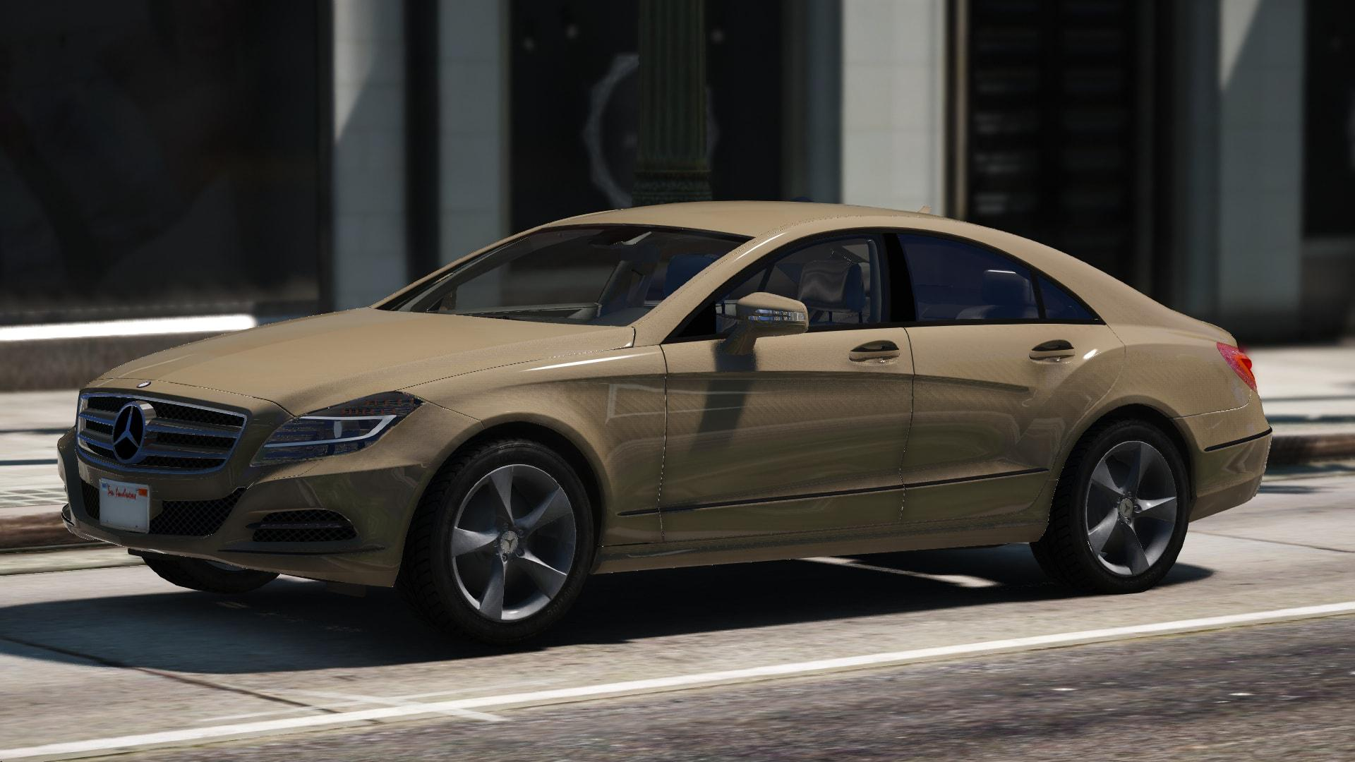 Mercedes benz cls 2012 unlocked gta5 for Mercedes benz gta