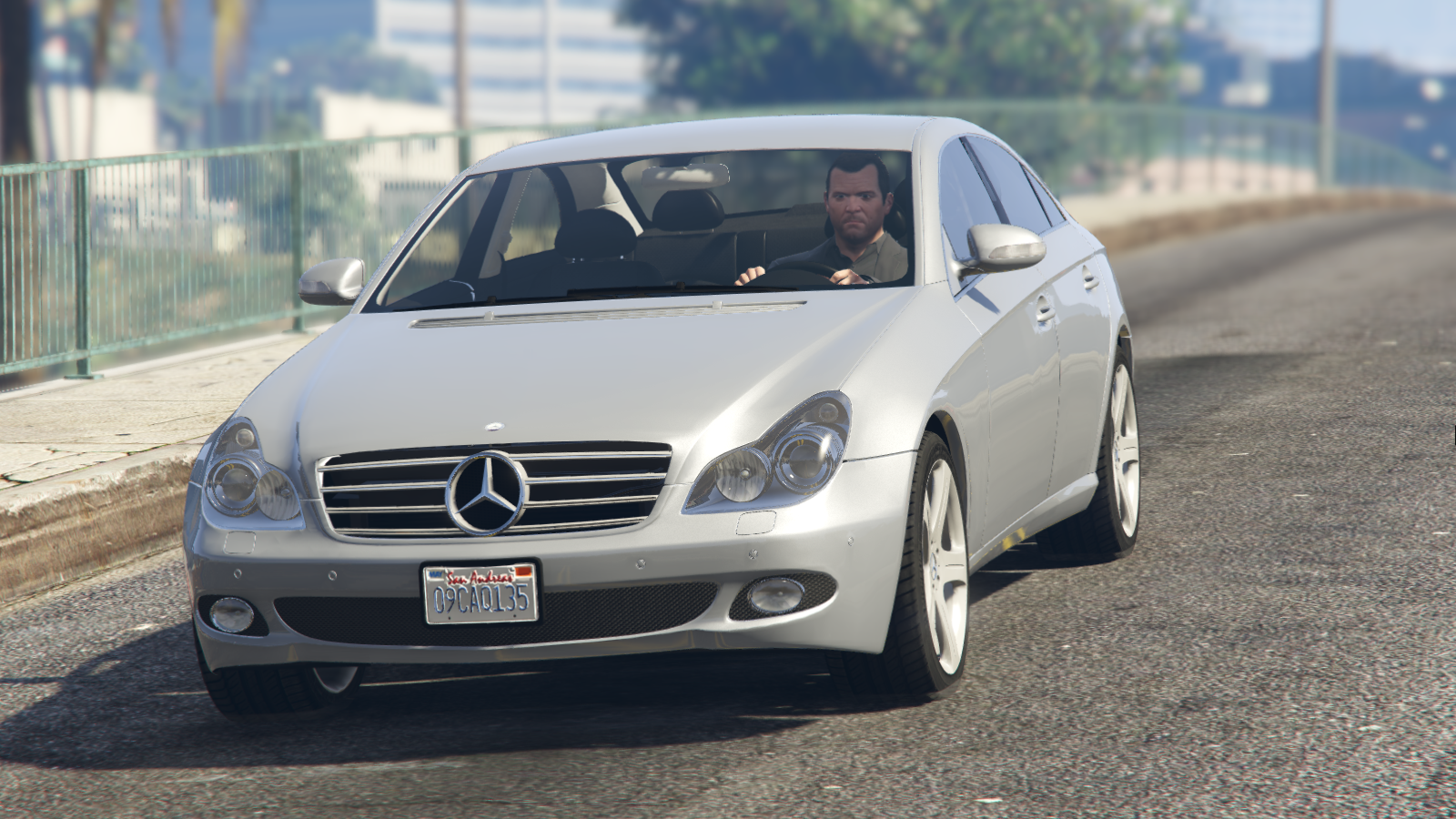 Mercedes benz cls 500 w219 add on replace gta5 for Mercedes benz add