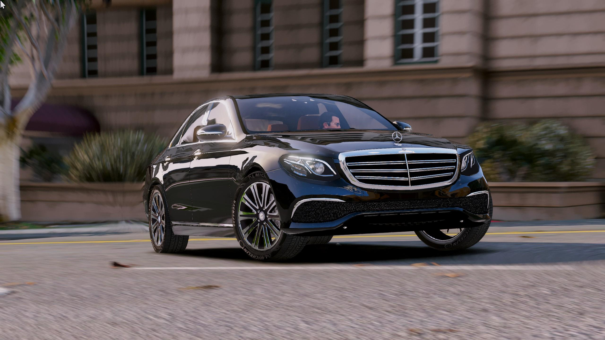 2016 mercedes benz e class e350e gta5 for Mercedes benz e 350