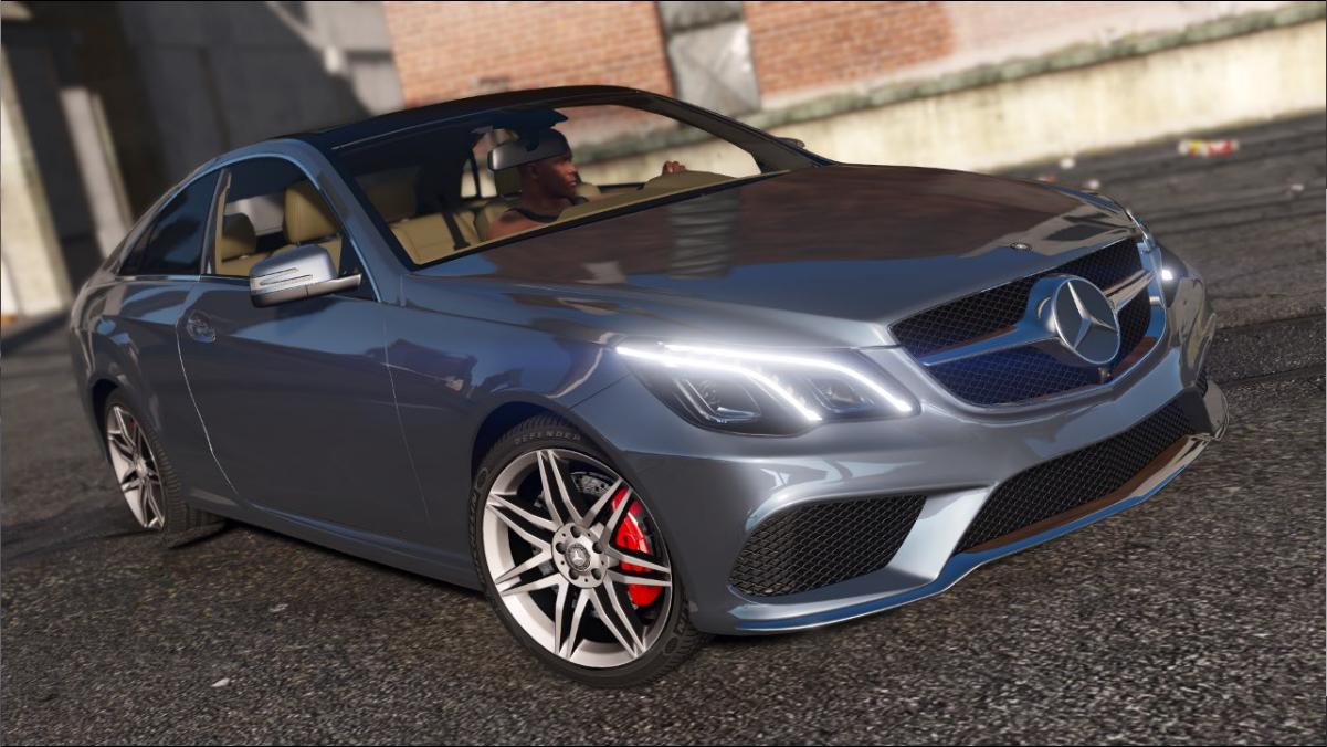 Mercedes benz e500 coupe replace gta5 for Mercedes benz e500 coupe