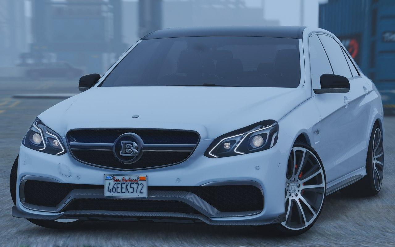 Mercedes benz e63 brabus add on replace gta5 for Mercedes benz mods