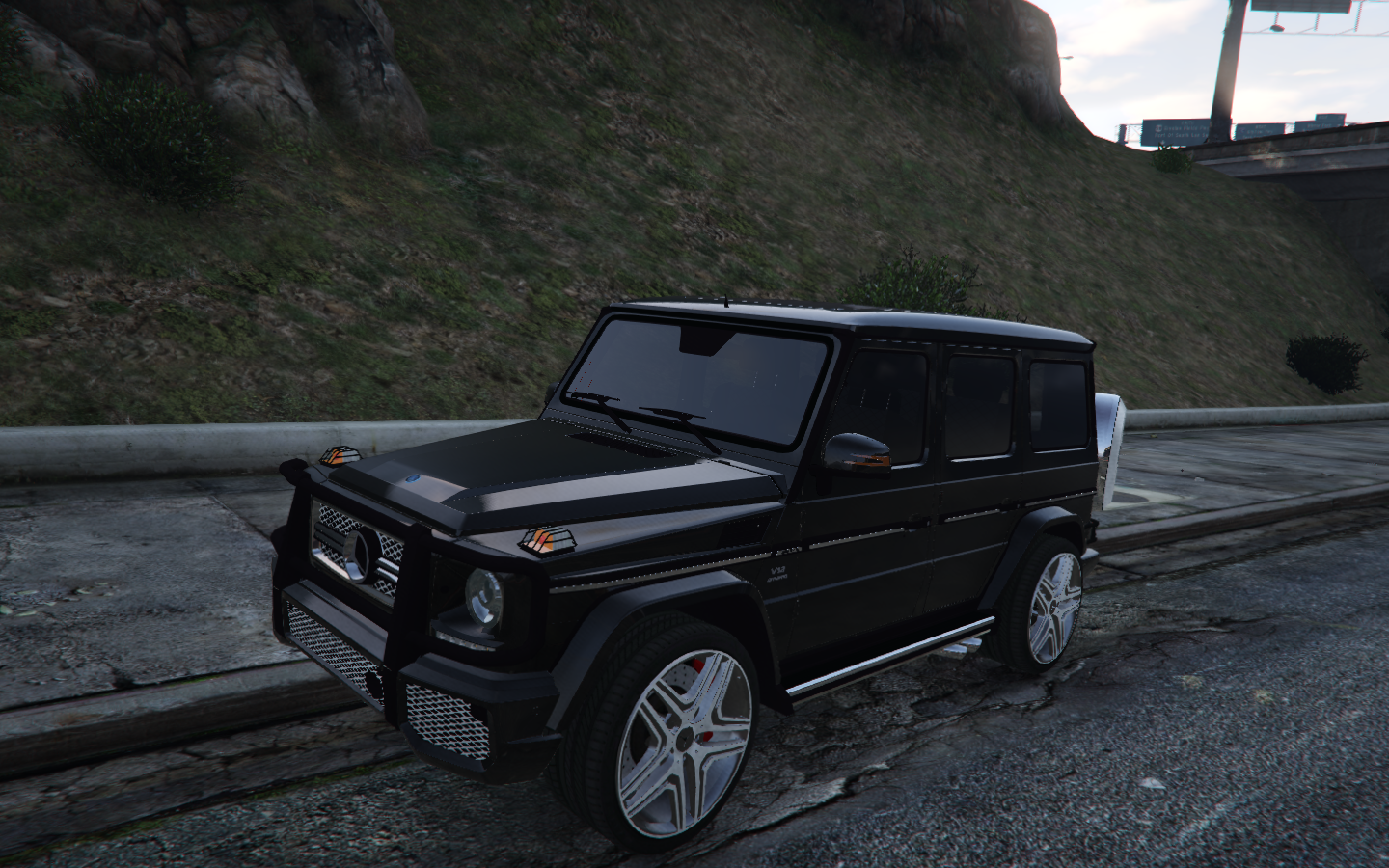 mercedes-benz g65 amg - gta5-mods