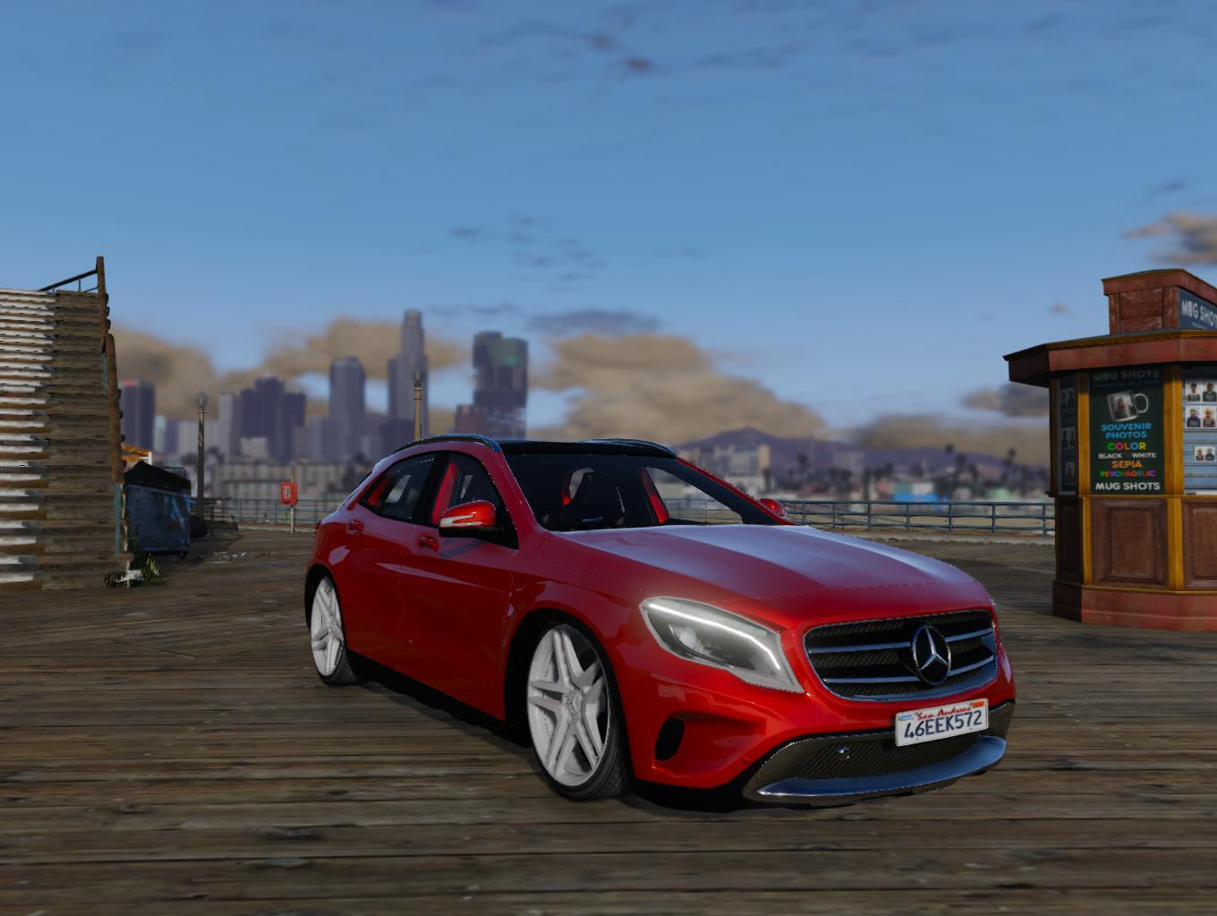 mercedes benz gla 220 cdi replace gta5. Black Bedroom Furniture Sets. Home Design Ideas