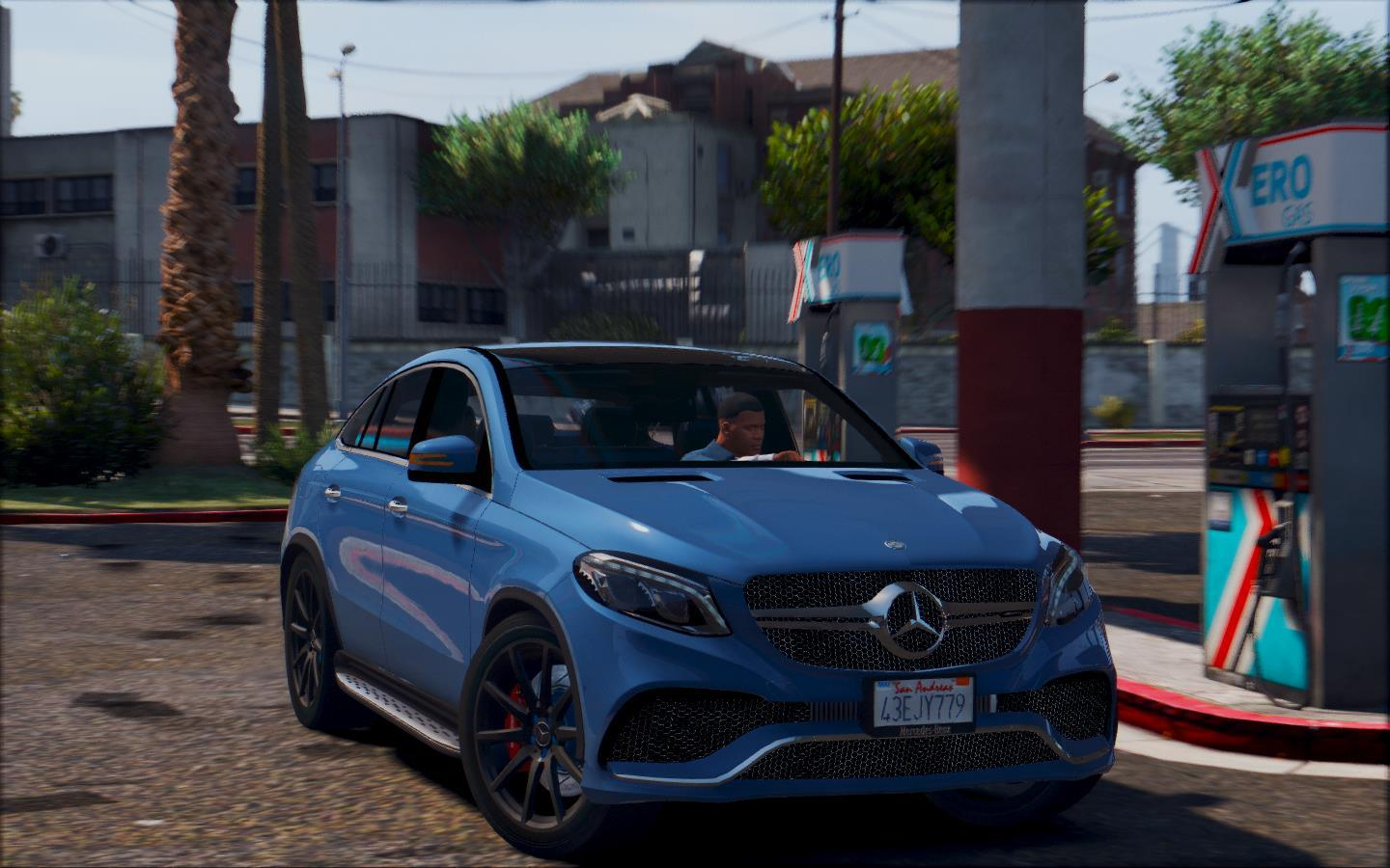 Mercedes benz gle amg add on gta5 for Mercedes benz gta