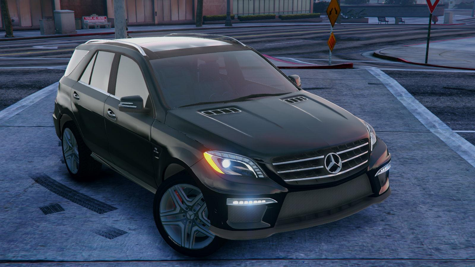 Mercedes benz ml63 amg 2014 gta5 for Mercedes benz ml 63 amg
