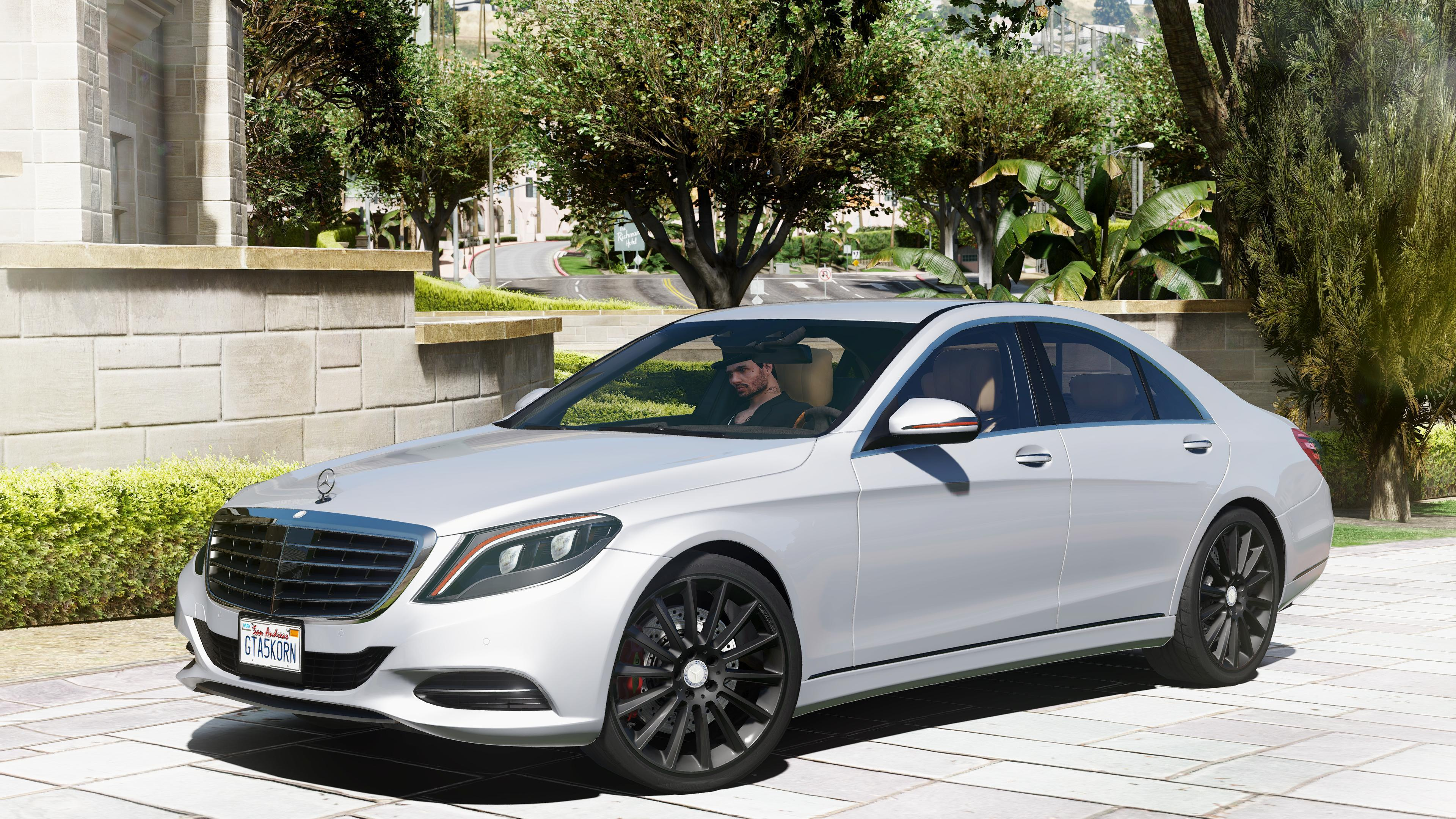 2014 mercedes benz s500 w222 add on replace gta5 for Mercedes benz gta