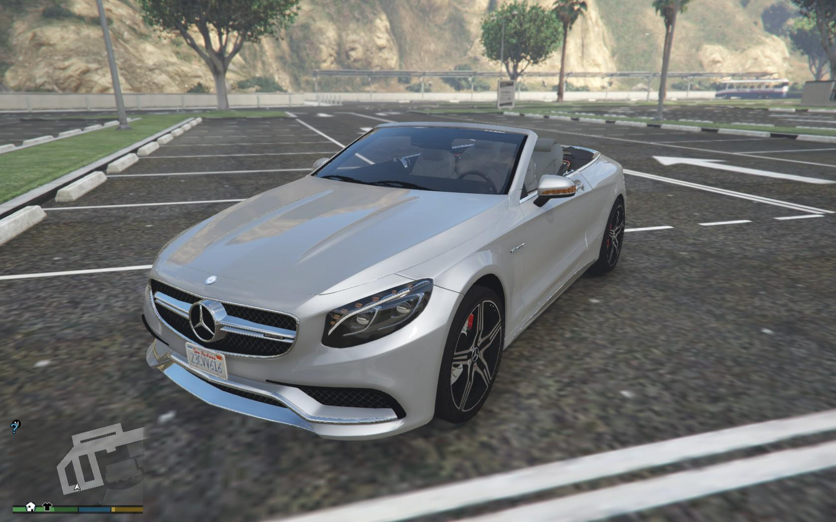 mercedes benz s63 amg cabriolet gta5. Cars Review. Best American Auto & Cars Review