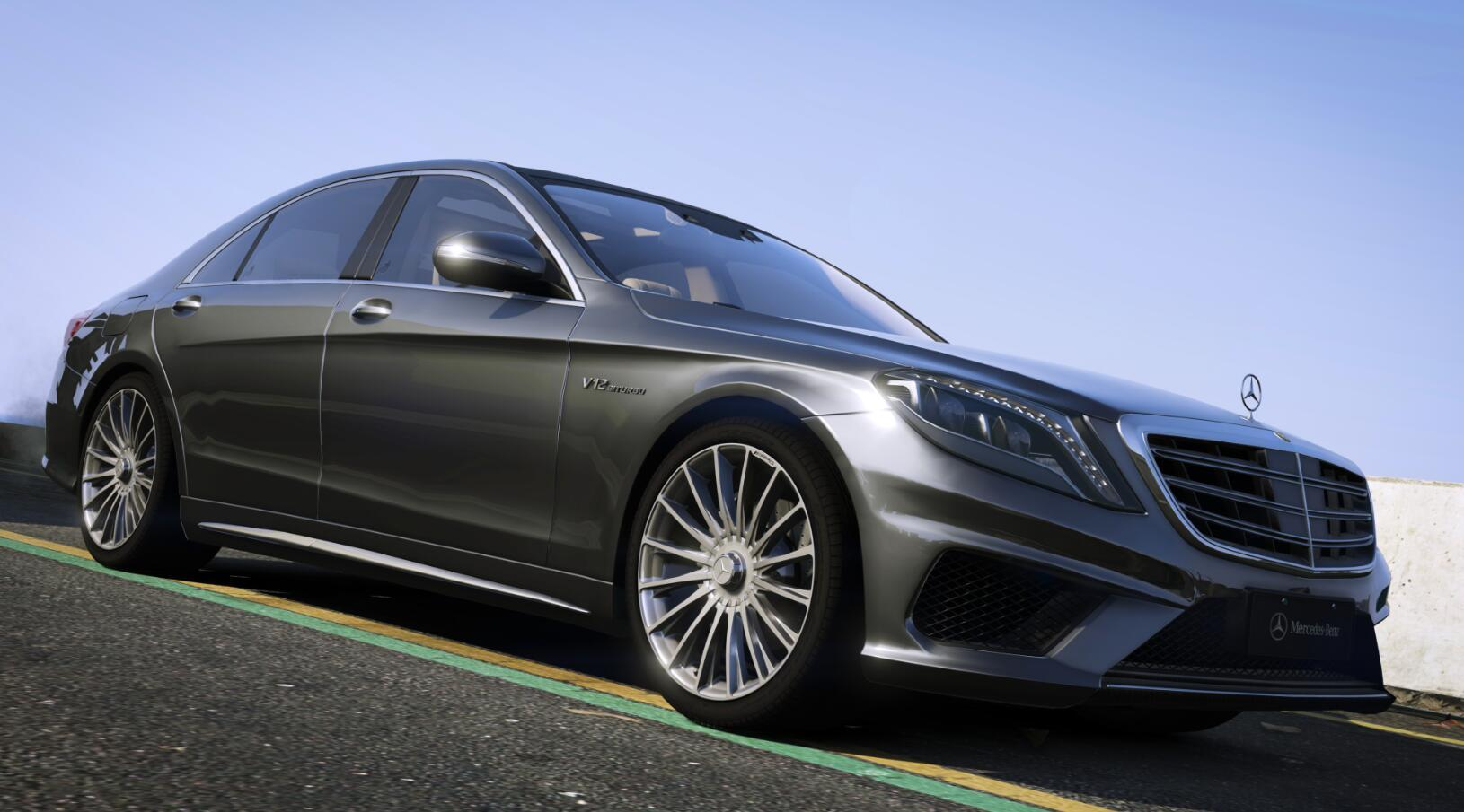 Mercedes Benz S65 Amg W222 2014 Gta5 Mods Com