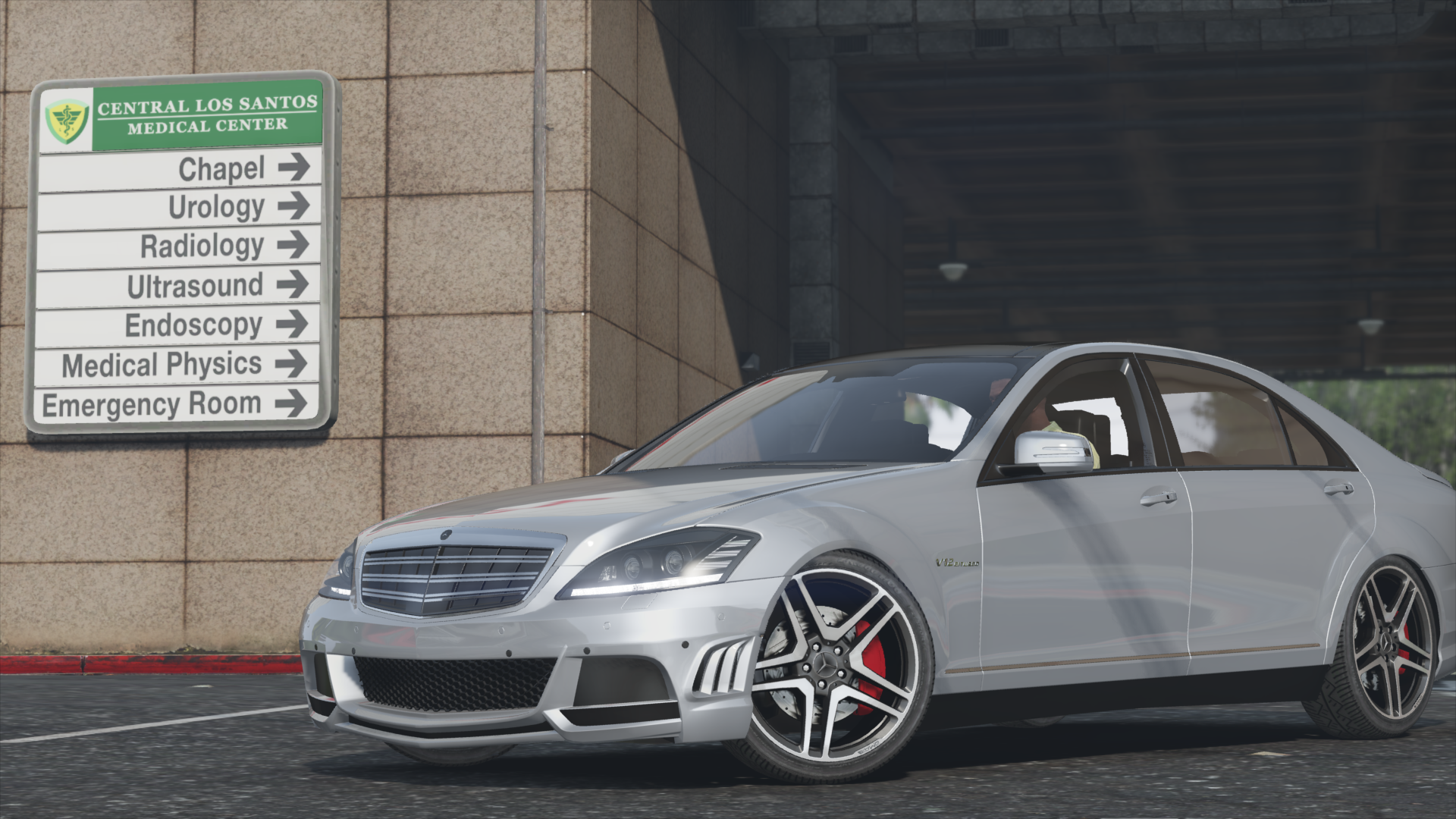 mercedes benz s65 amg w221 add on replace gta5. Black Bedroom Furniture Sets. Home Design Ideas