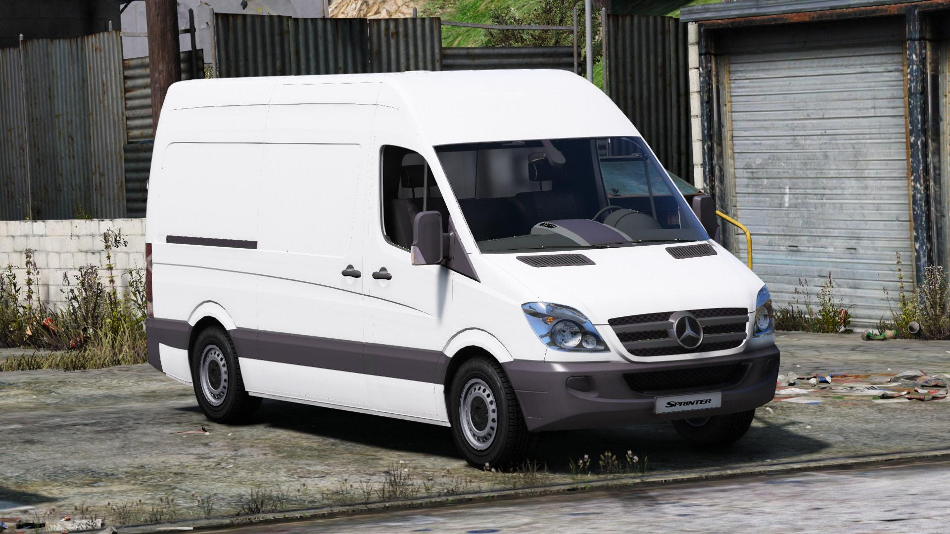 Mercedes benz sprinter 2011 unlocked gta5 for Mercedes benz gta