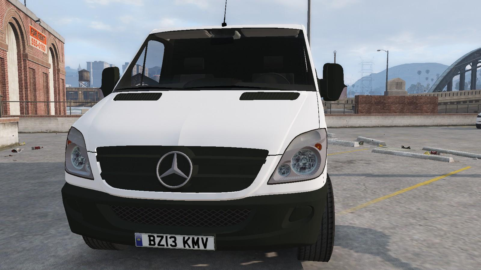 Mercedes benz sprinter low roof gta5 for Mercedes benz gta