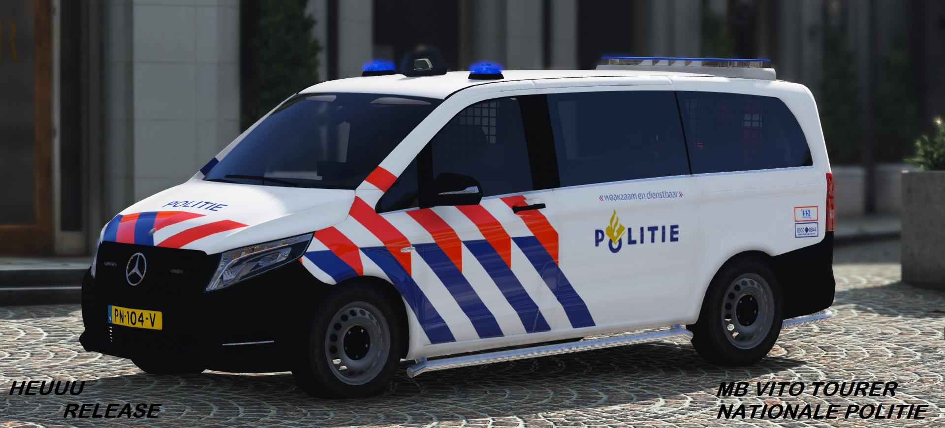 mercedes benz vito tourer politie 2017 els gta5. Black Bedroom Furniture Sets. Home Design Ideas