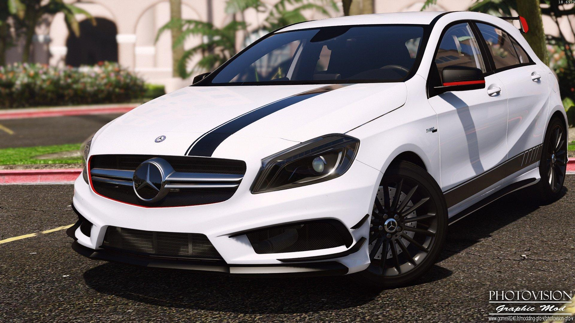 Mercedes benz classe a45 amg edition 1 add on replace for Mercedes benz a45 amg