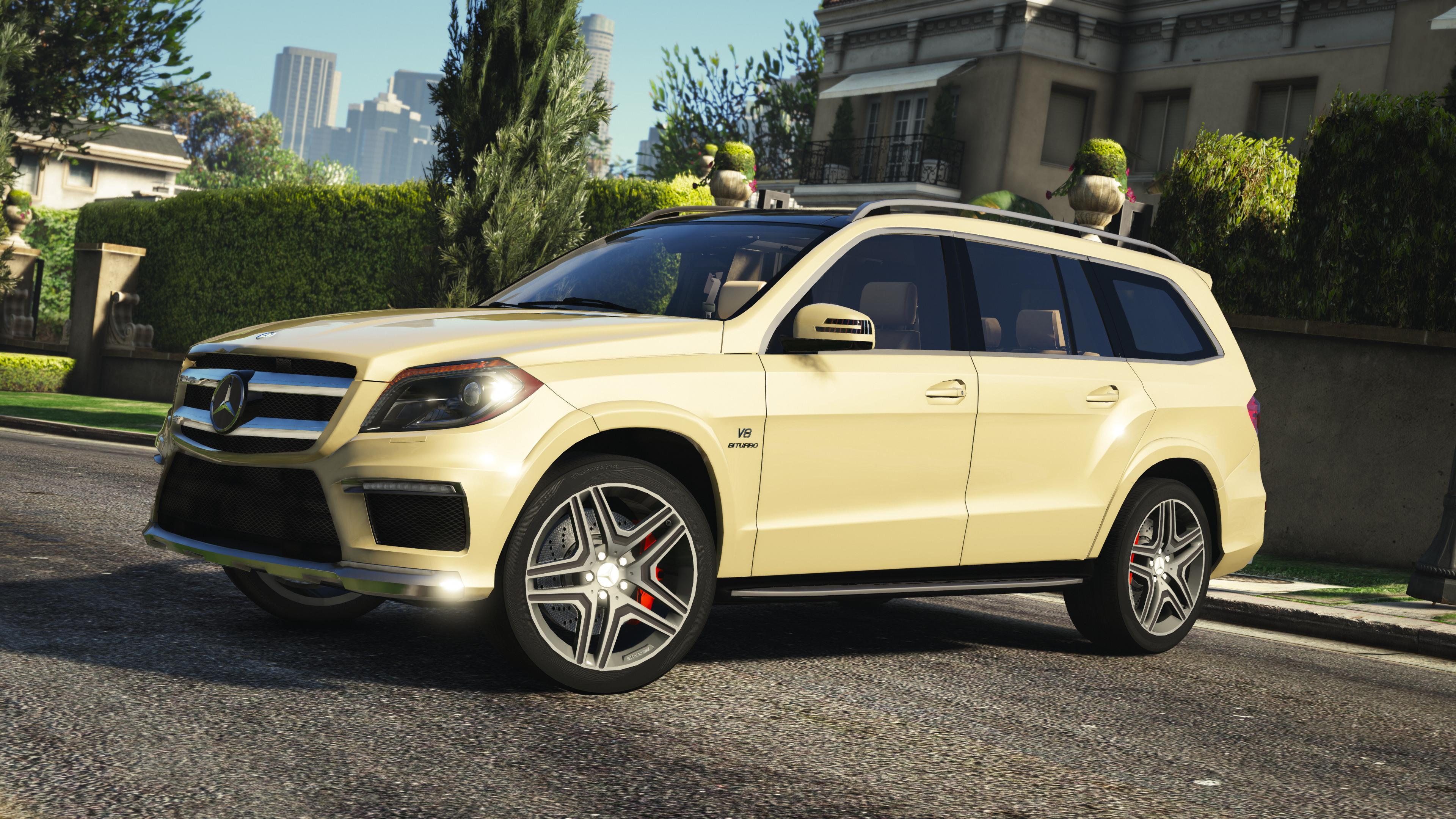 mercedes benz gl63 amg add on replace gta5