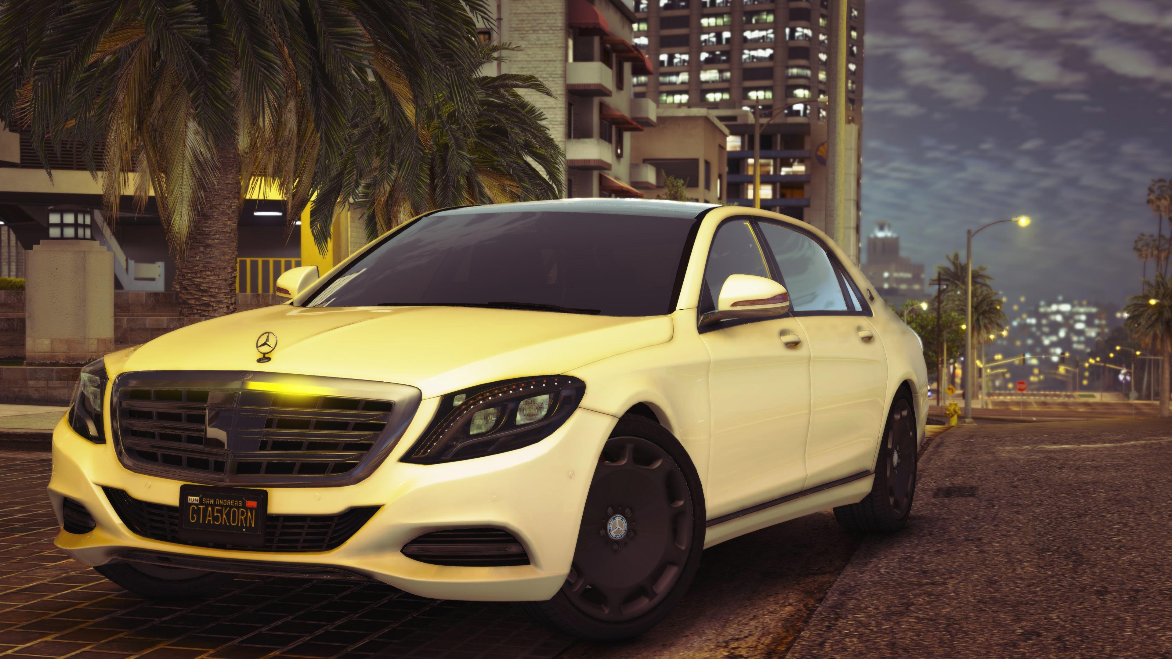 Mercedes Maybach S400 X222 Gta5 Mods Com