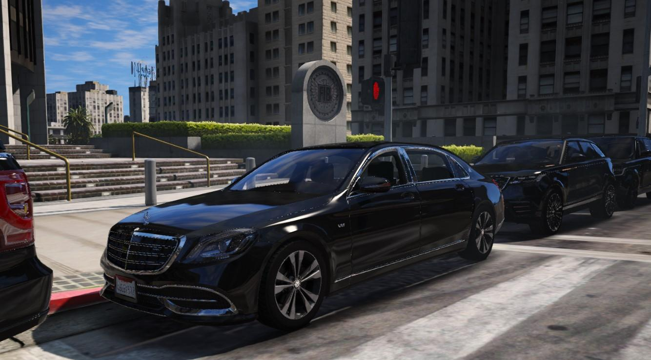 mercedes-maybach s650 realistic handling