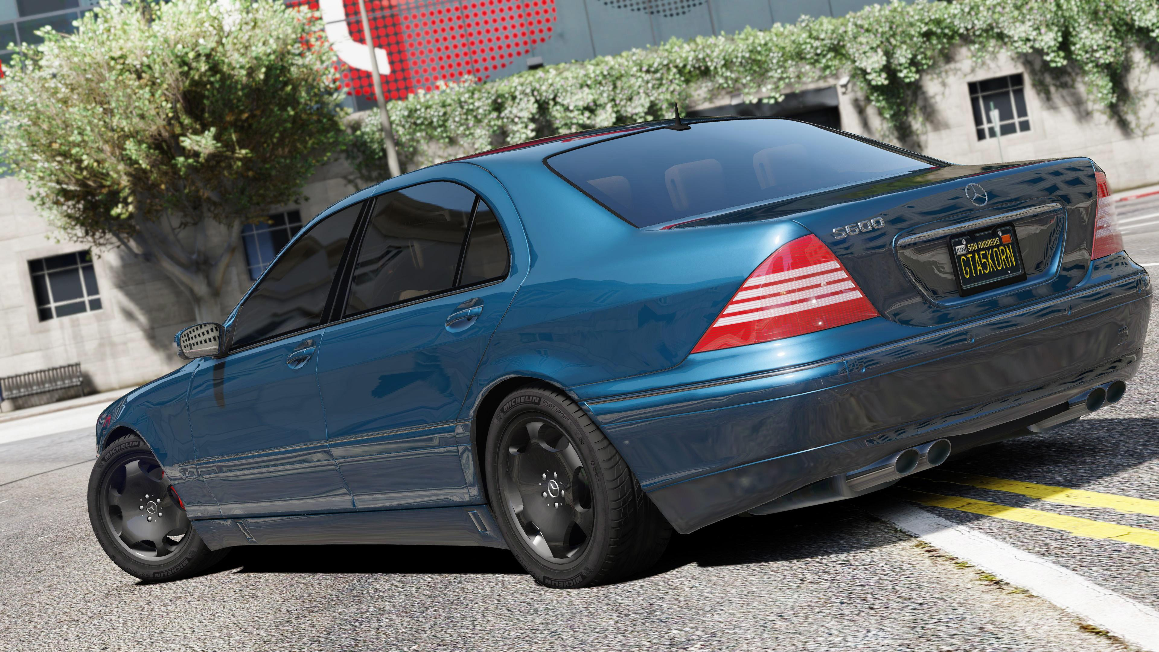 Mercedes Benz S600 W220 Add On Replace