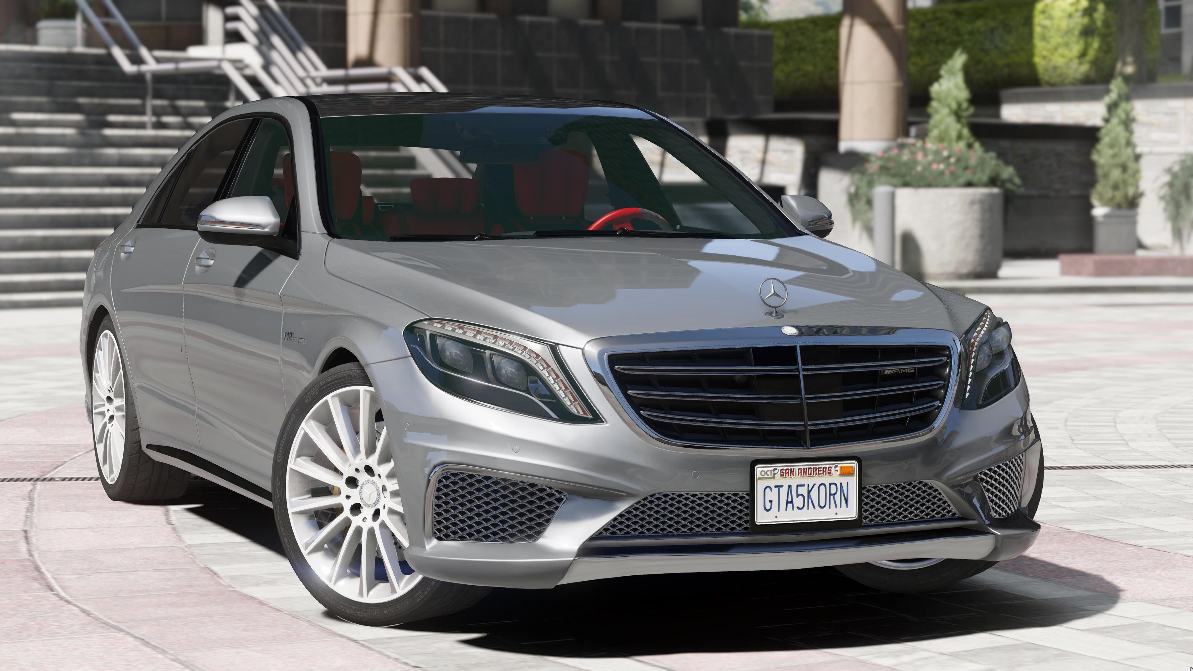 Mercedes benz s65 w222 add on replace gta5 for Mercedes benz s65
