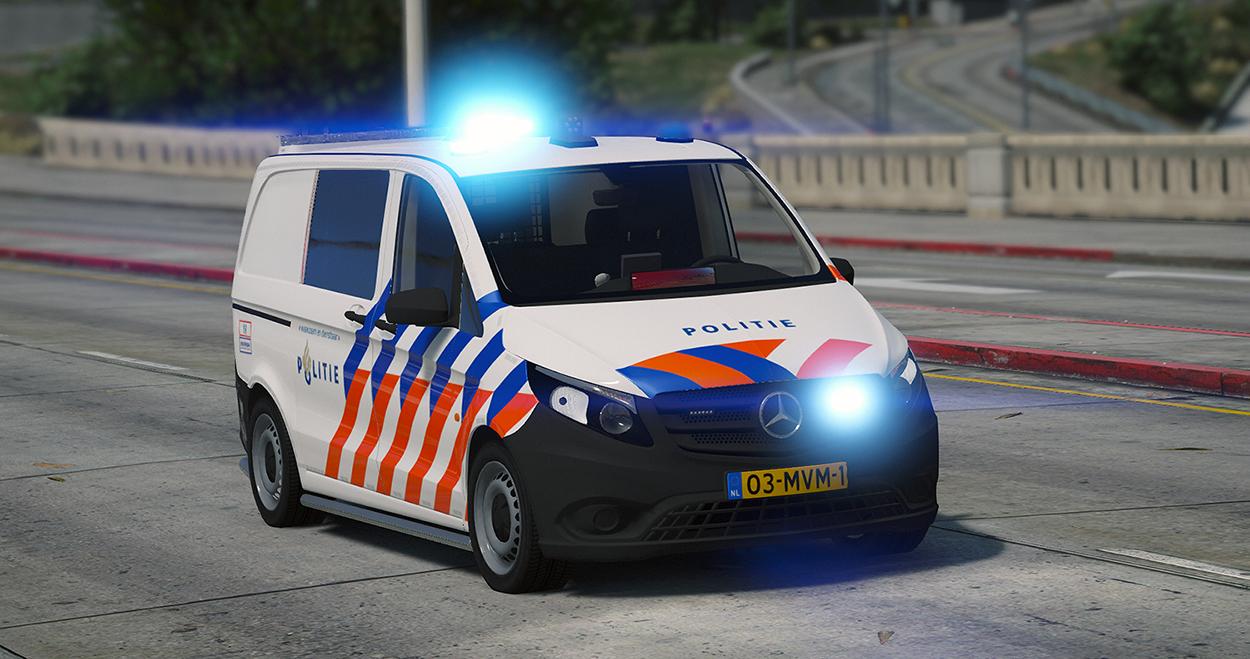 Mercedes Vito 2016 Nederlandse Politie / Dutch Police [ELS