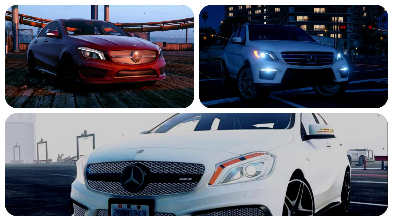 Mercedes benz add on pack gta5 for Mercedes benz add