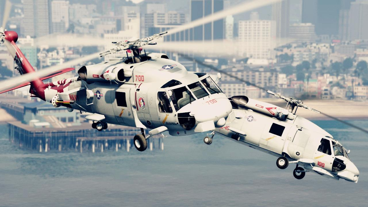 Mh 60r Seahawk Variant Pack Add On Gta5 Mods Com