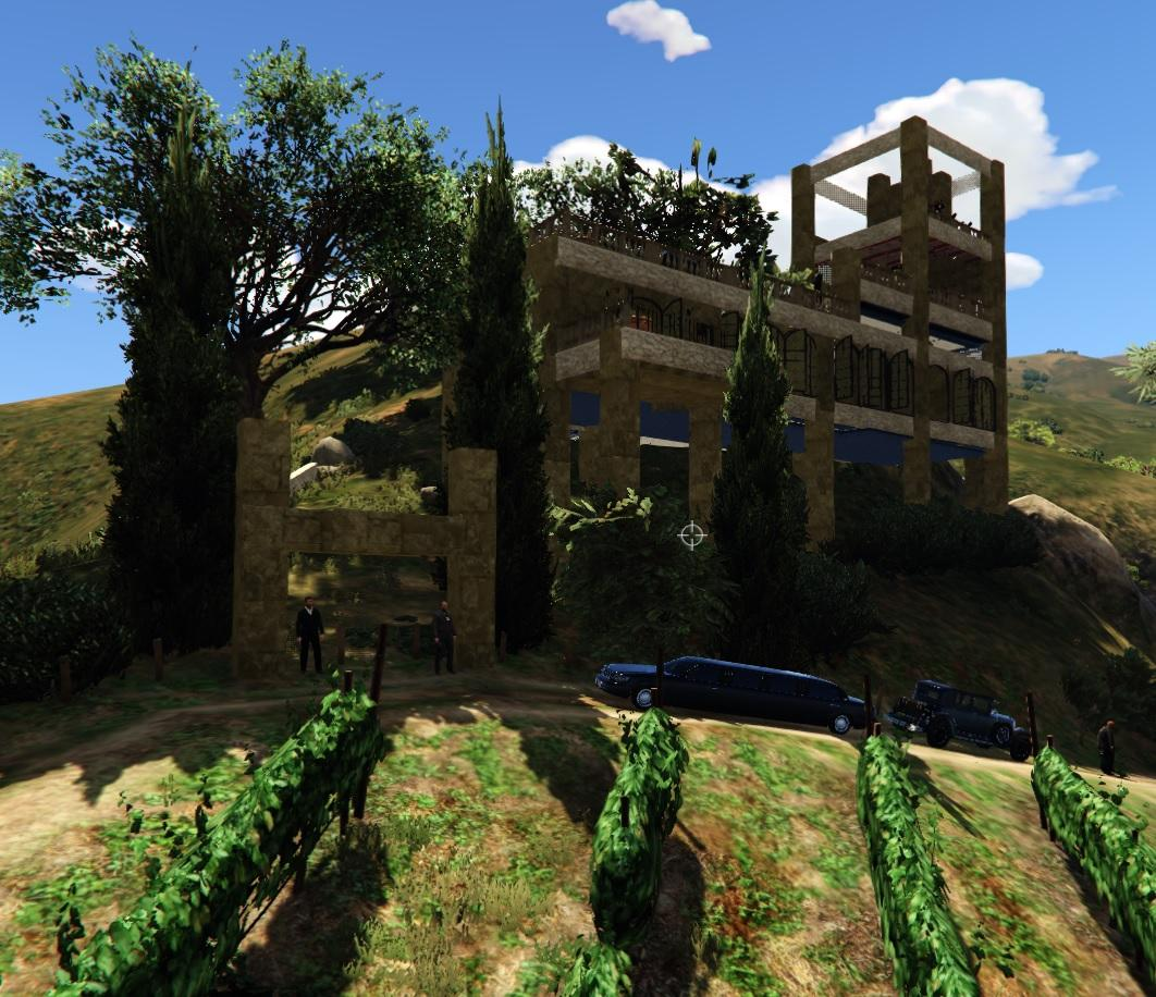 Michael 39 s italian house gta5 for Italian house