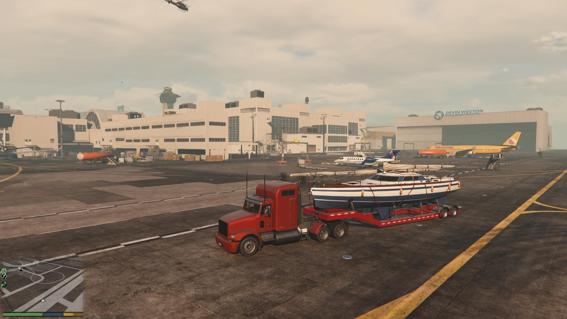 Michael S Boat Trailer Gta5 Mods Com