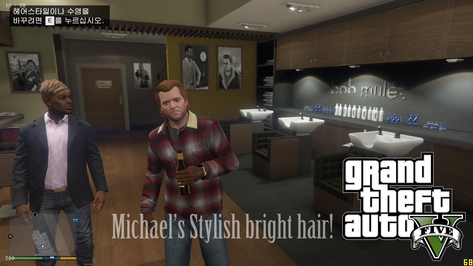 Michael's brown-blonde Hair/Beard pack - GTA5-Mods.com