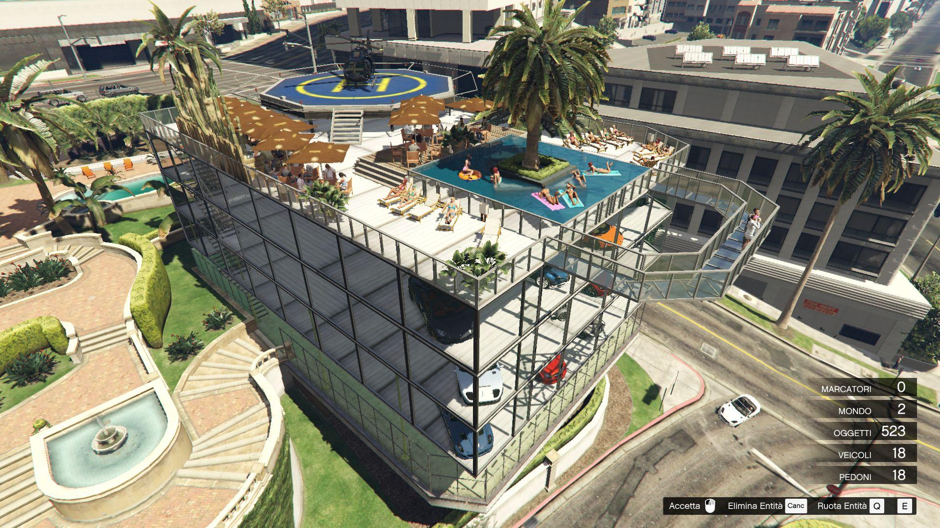 Michael 39 S Garage 2 Party Terrace Map Editor Spg