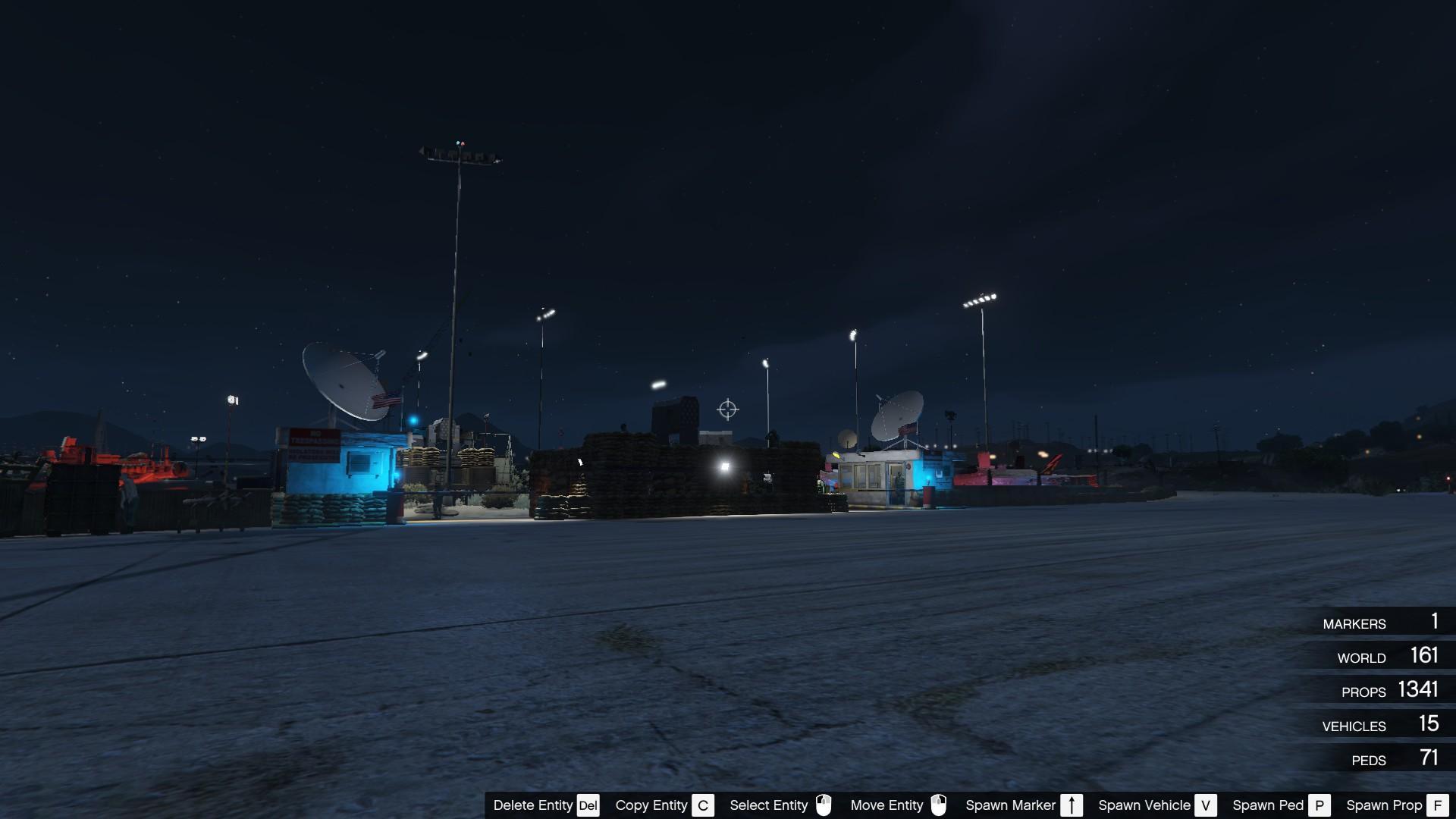 Military Base At Trevor S Airfield Gta5 Mods Com