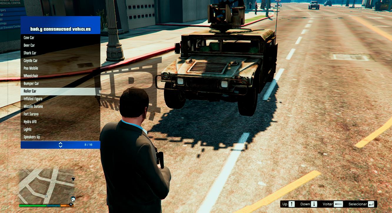Military Humvee Menyoo Gta5 Mods Com