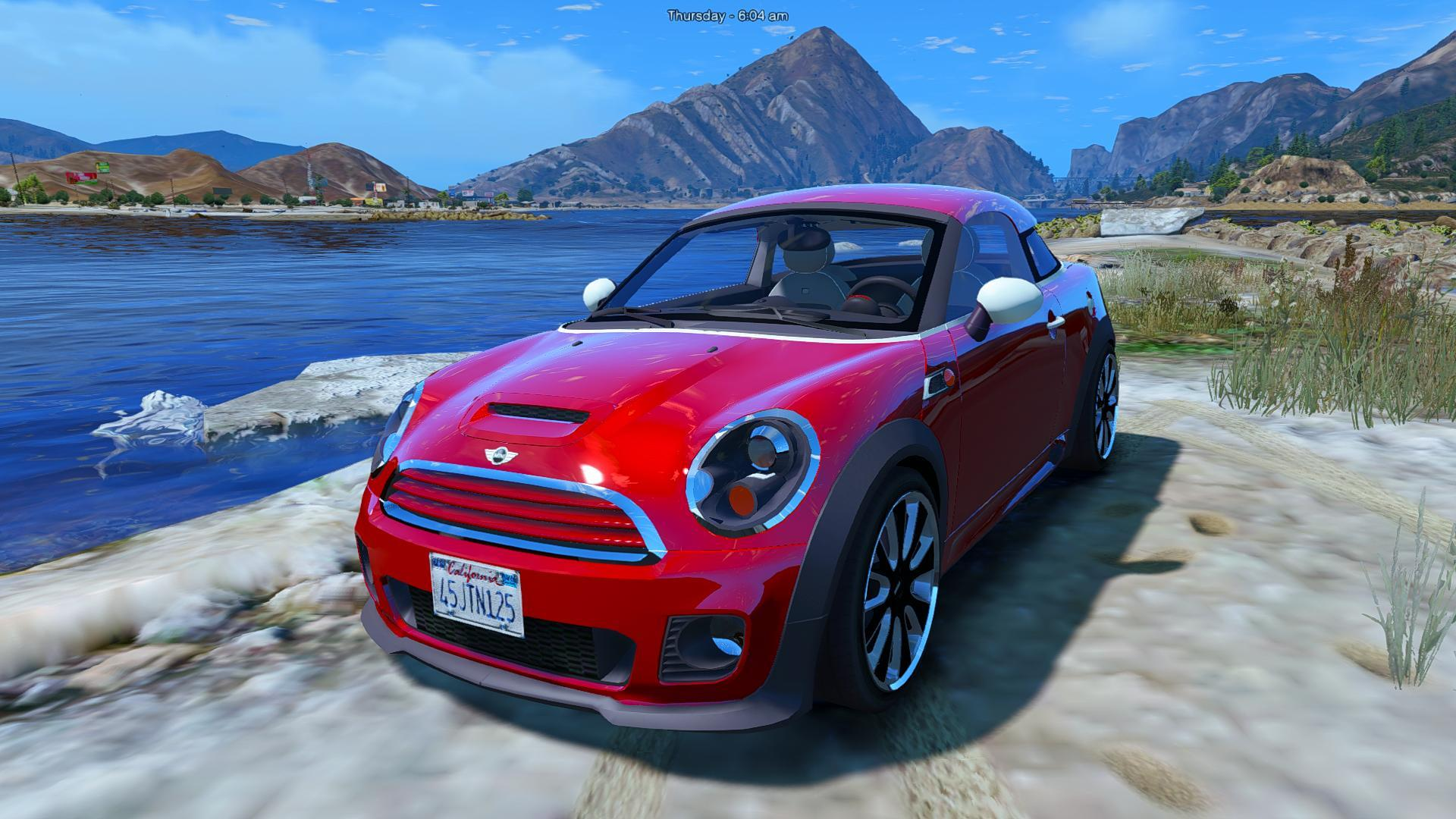 mini cooper s roadster add on replace gta5. Black Bedroom Furniture Sets. Home Design Ideas