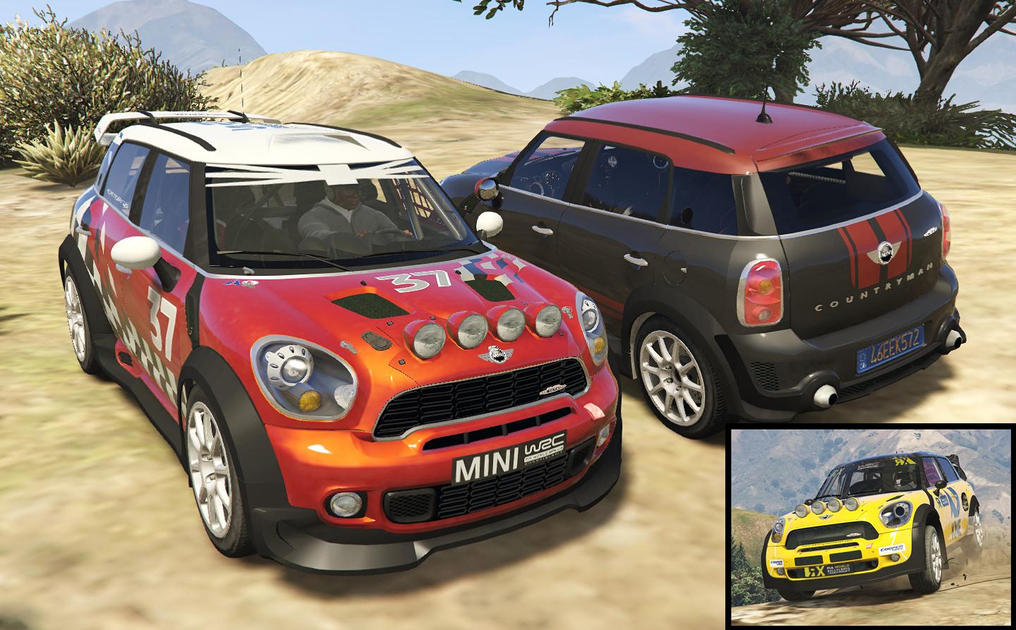 mini r60 countryman 3 cars pack add on replace tuning livery gta5. Black Bedroom Furniture Sets. Home Design Ideas