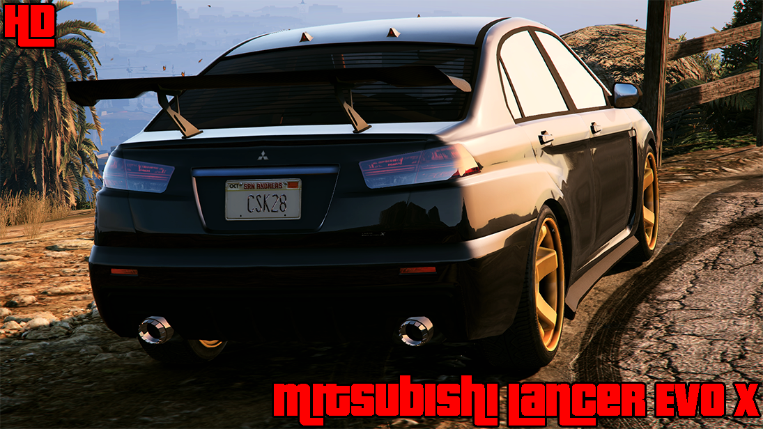 Local Motors Rally Fighter >> Mitsubishi Lancer Evo X HD Badge - GTA5-Mods.com