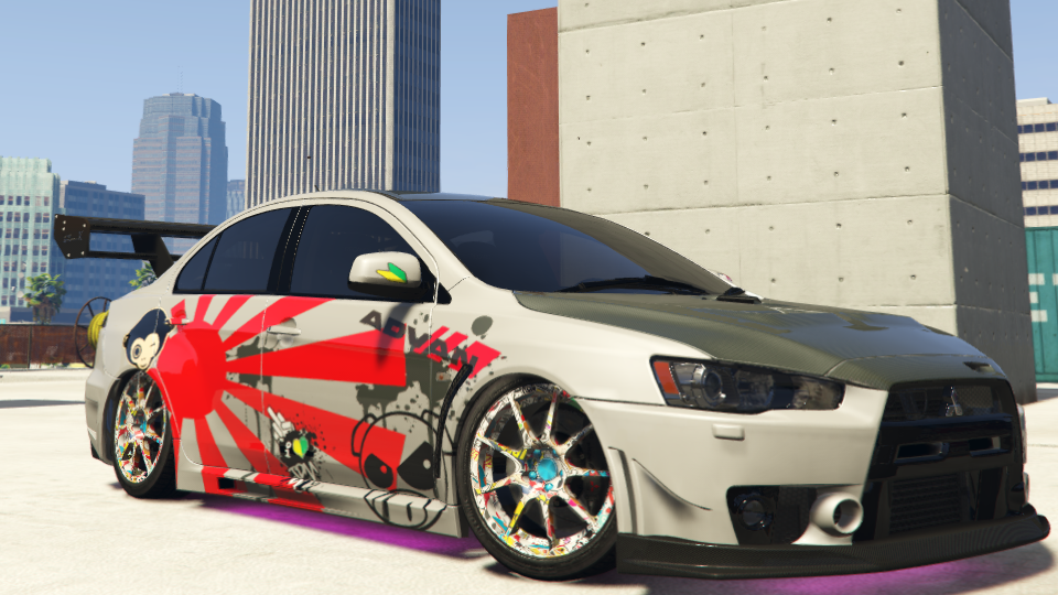 X Evo  Car Mods