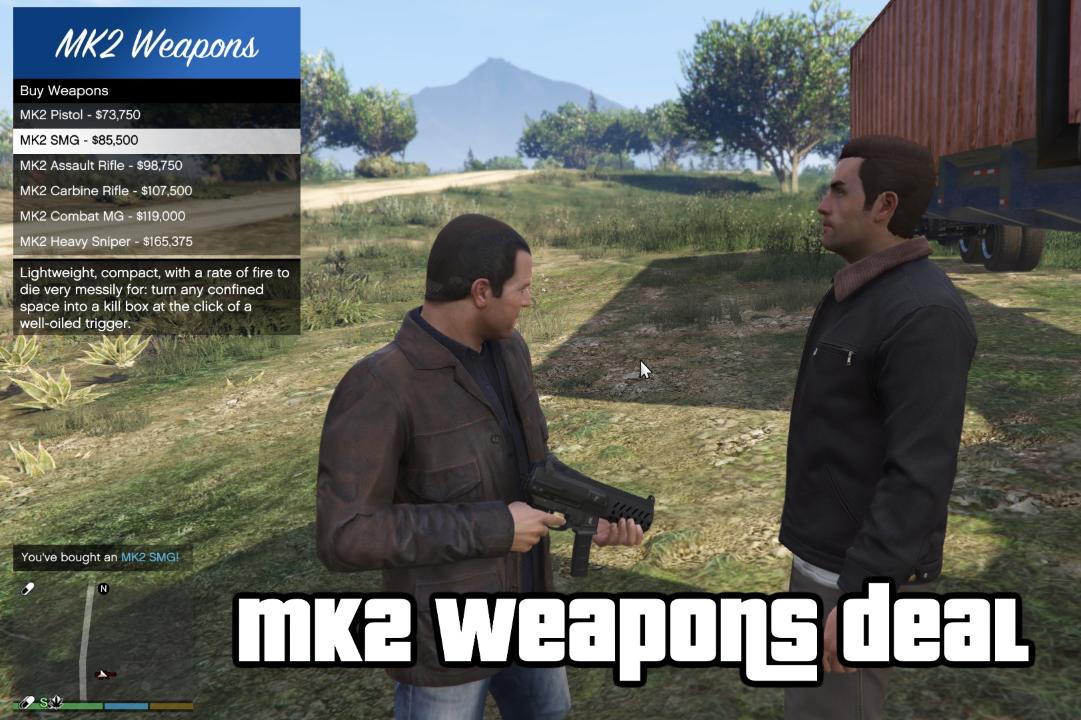 MK2 / MKII Weapon Deals in SP [OPEN SOURCE] - GTA5-Mods com