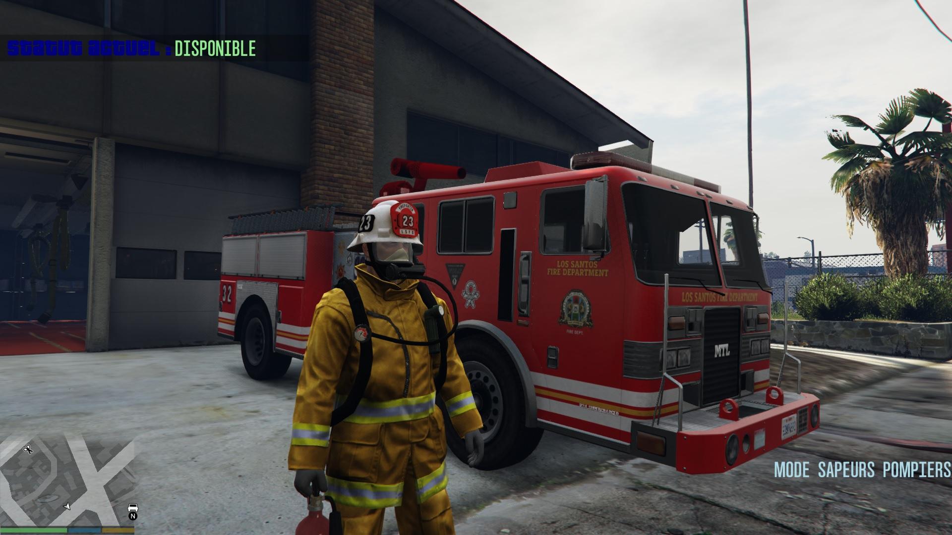 firefighter mod mode sapeurs pompiers gta5 mods com