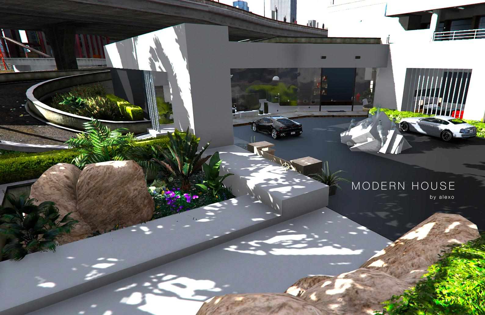 Modern Art House Gta5