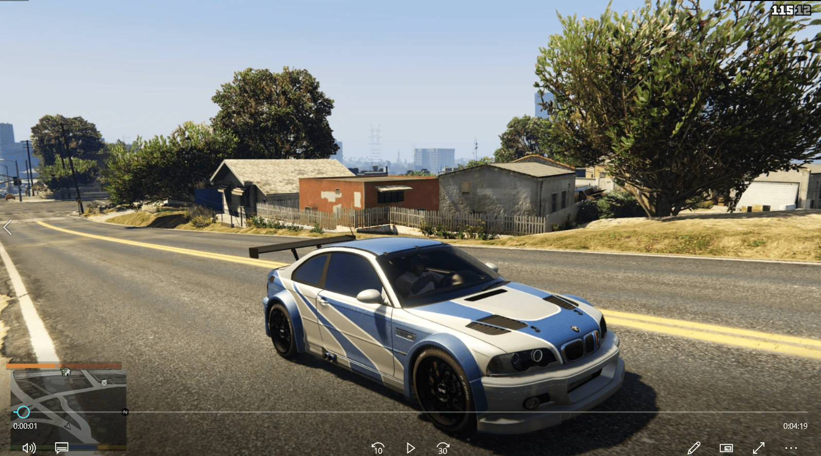 Most Wanted Bmw M3 Gtr Not So Garbage Handling Fix Gta5 Mods Com