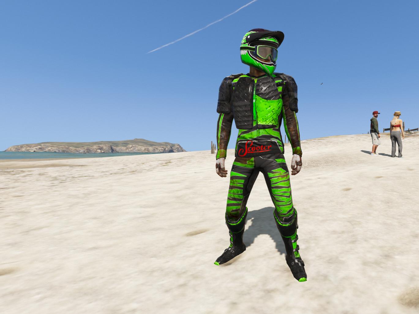 Motocross Biker Outfit Menyoo Gta5 Mods Com