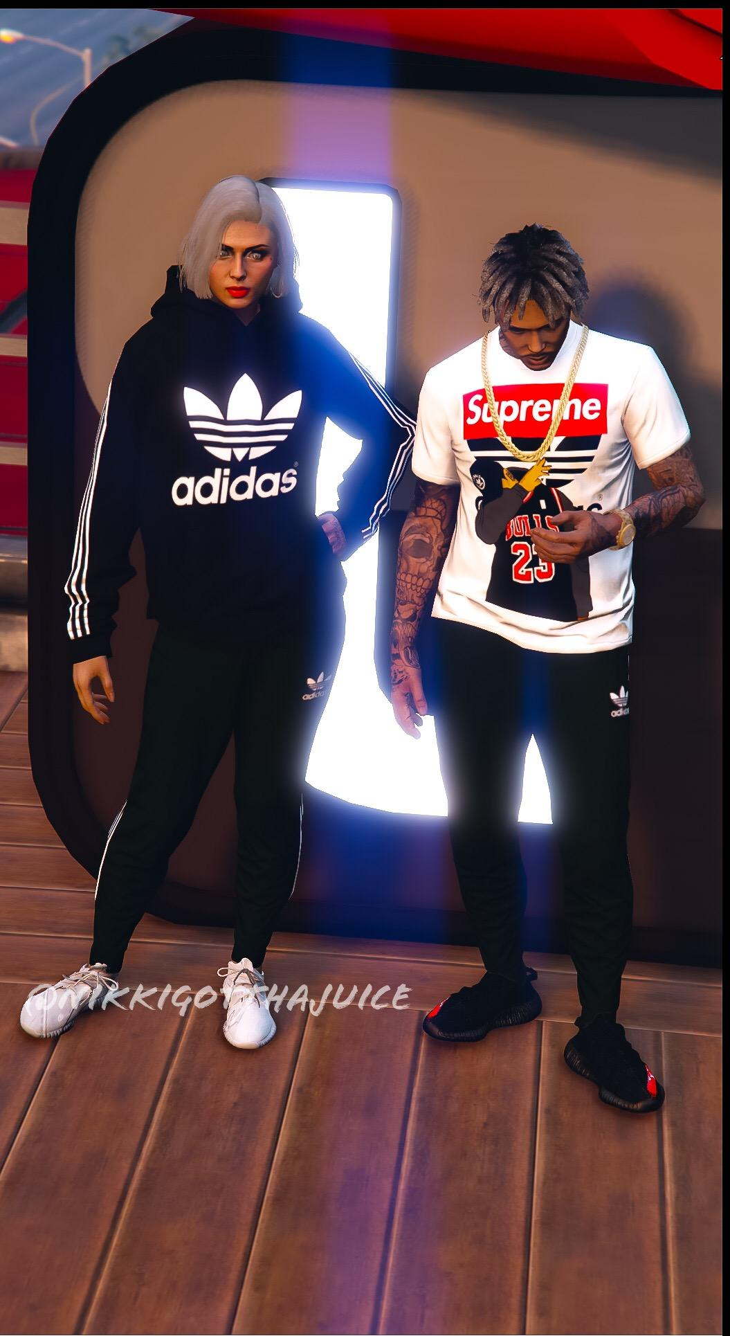 Odio Alas Tóxico  MP Adidas Sweatpants For Male & Female - GTA5-Mods.com