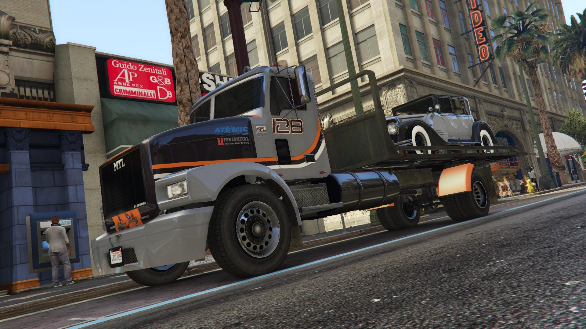 mtl flatbed tow truck add on oiv wipers liveries template gta5. Black Bedroom Furniture Sets. Home Design Ideas