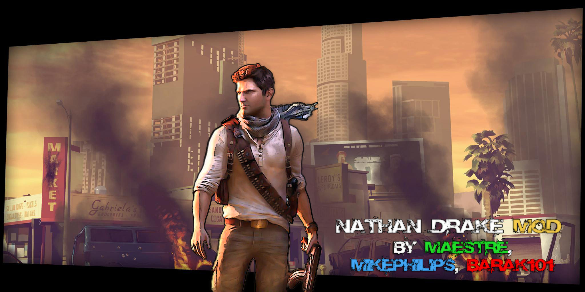 Nathan Drake From Uncharted 3 Gta5 Mods Com