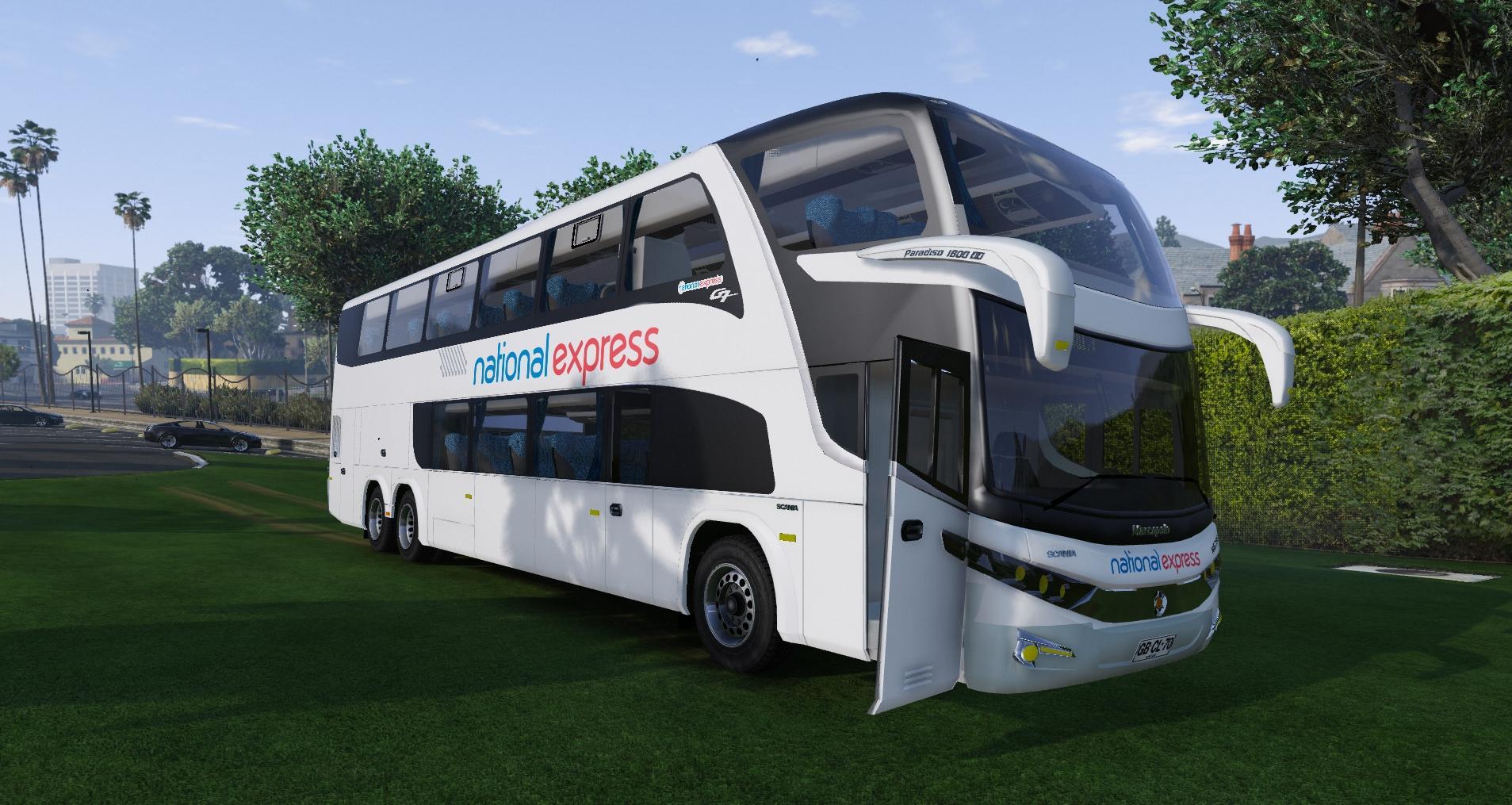 National Express Coach [4K] - GTA5-Mods.com