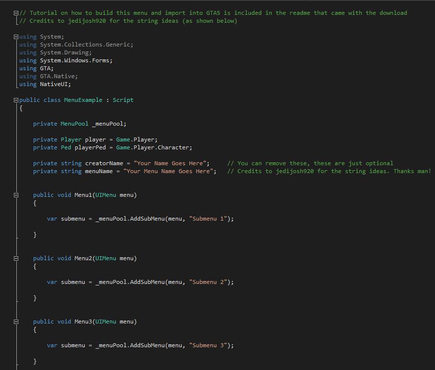 nativeui empty template gta5 mods com