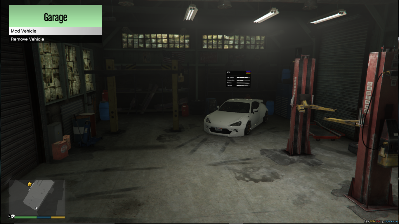 Need for speed garage gta5 for Garage auto 7