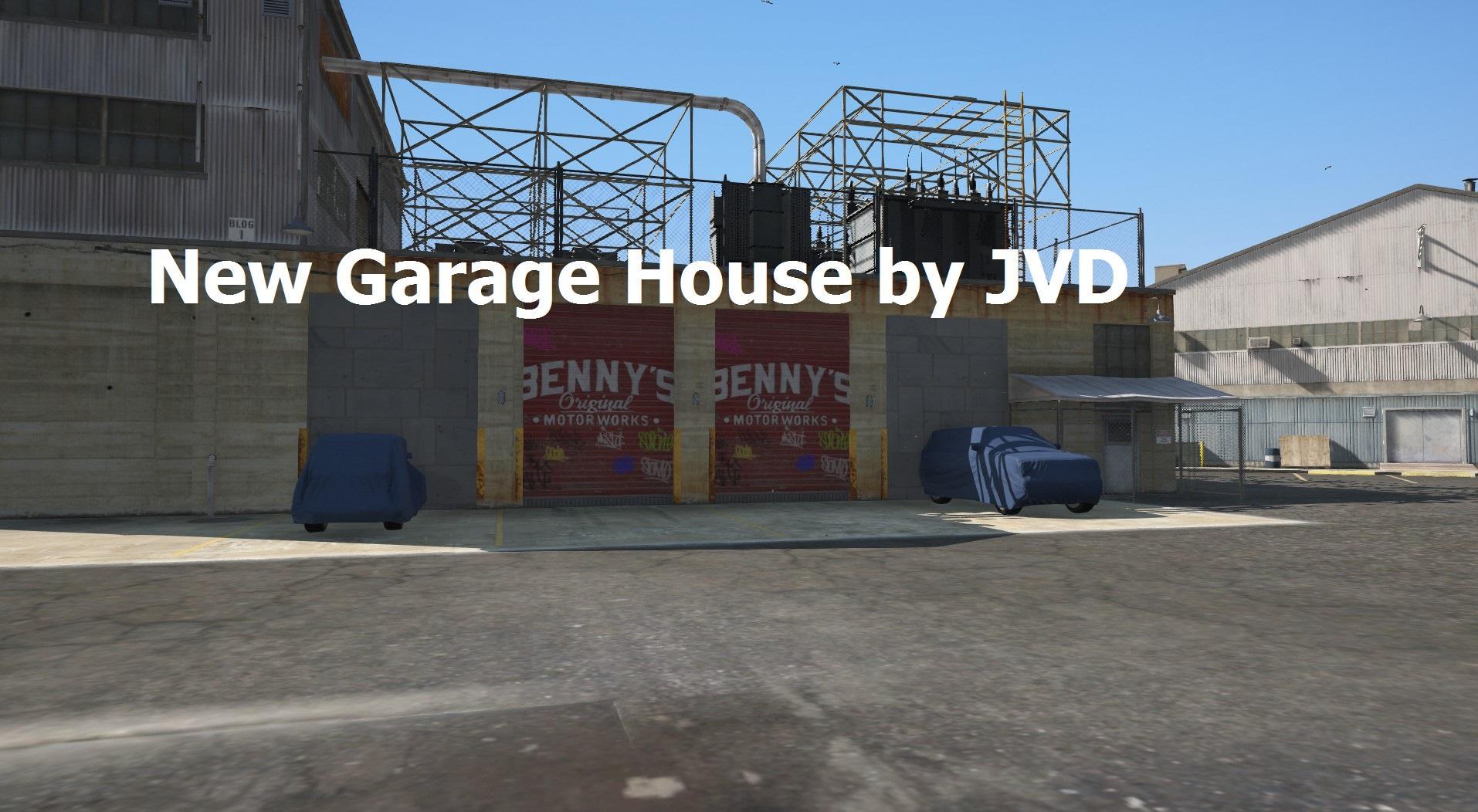New garage house gta5 for New garage