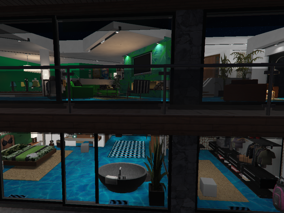New interior for franklin 39 s house gta5 for New interior